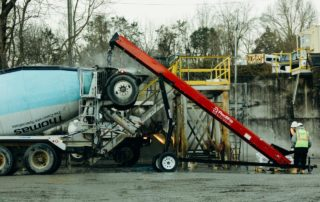 Conveyor and Cement truck