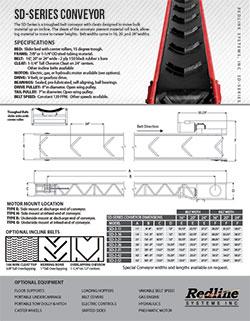 SD-series Spec Sheet